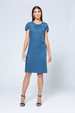 Kleid »Verena« Light Blue