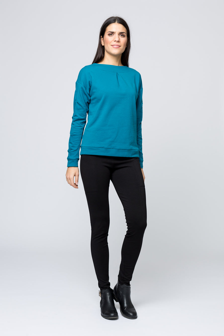Pullover »Chrissy « Petrol