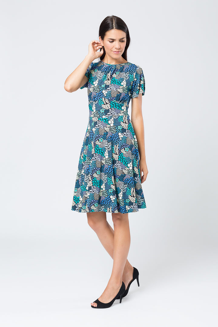 Kleid »Savanna« Blue Flower Grapes