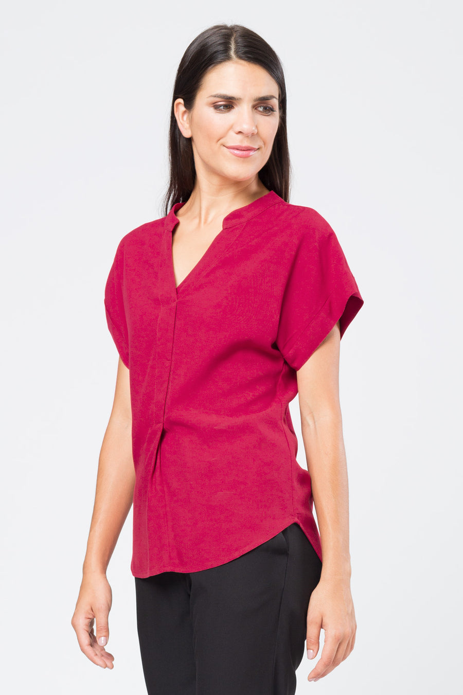 Top »Lara« Red