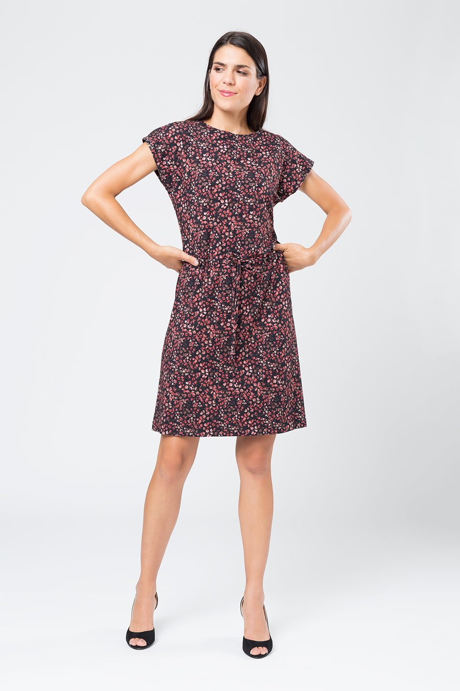 Kleid »Tanja« Red Leaf