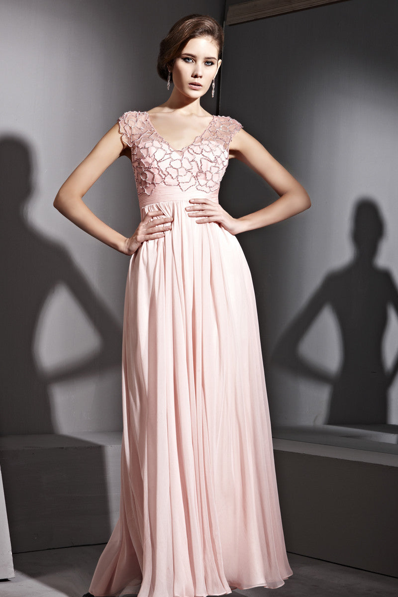 Pink lace bridesmaid dress with beading 81129 elliot claire london elliot claire pink lace bridesmaid dress with beading ombrellifo Gallery