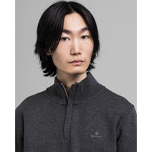 Load image into Gallery viewer, GANT Sacker Rib Half-Zip Sweatshirt