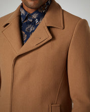 Load image into Gallery viewer, Remus Uomo Tapered Fit Wool-Rich Overcoat