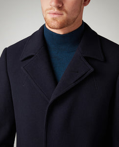 Remus Uomo Tapered  fit overcoat