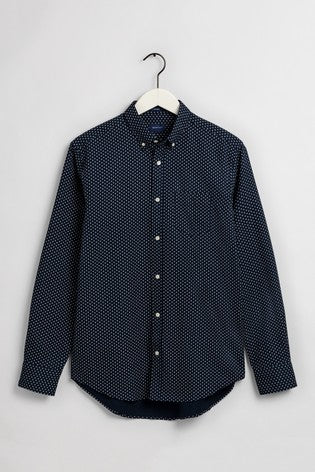Gant cherry Blossom shirt regular fit navy blue
