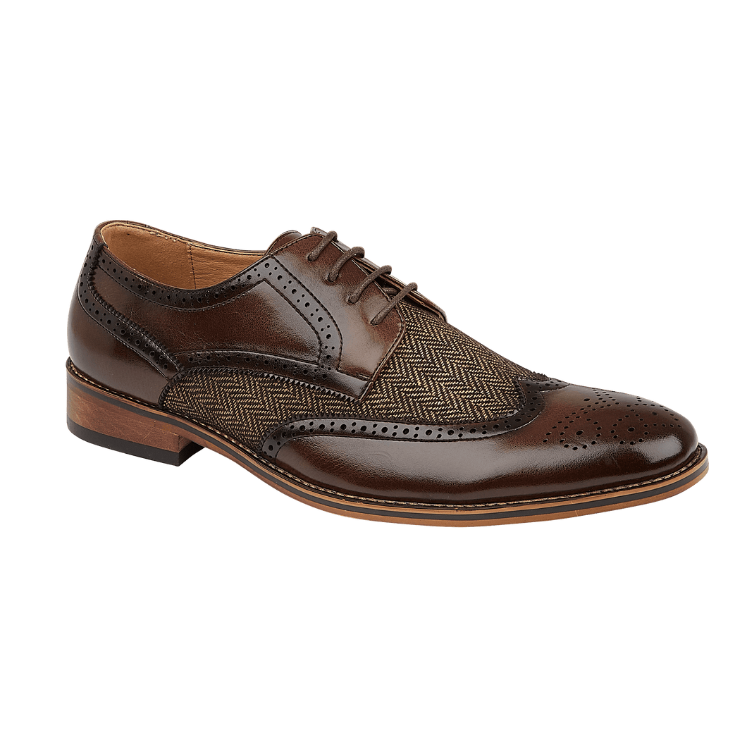 Mens lace shoe Brown Durham