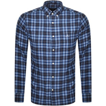 Load image into Gallery viewer, Gant Flannel shirt regular fit persian blue