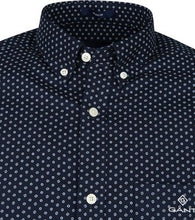 Load image into Gallery viewer, Gant cherry Blossom shirt regular fit navy blue