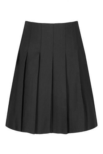 Junior stitch down pleat skirt Grey