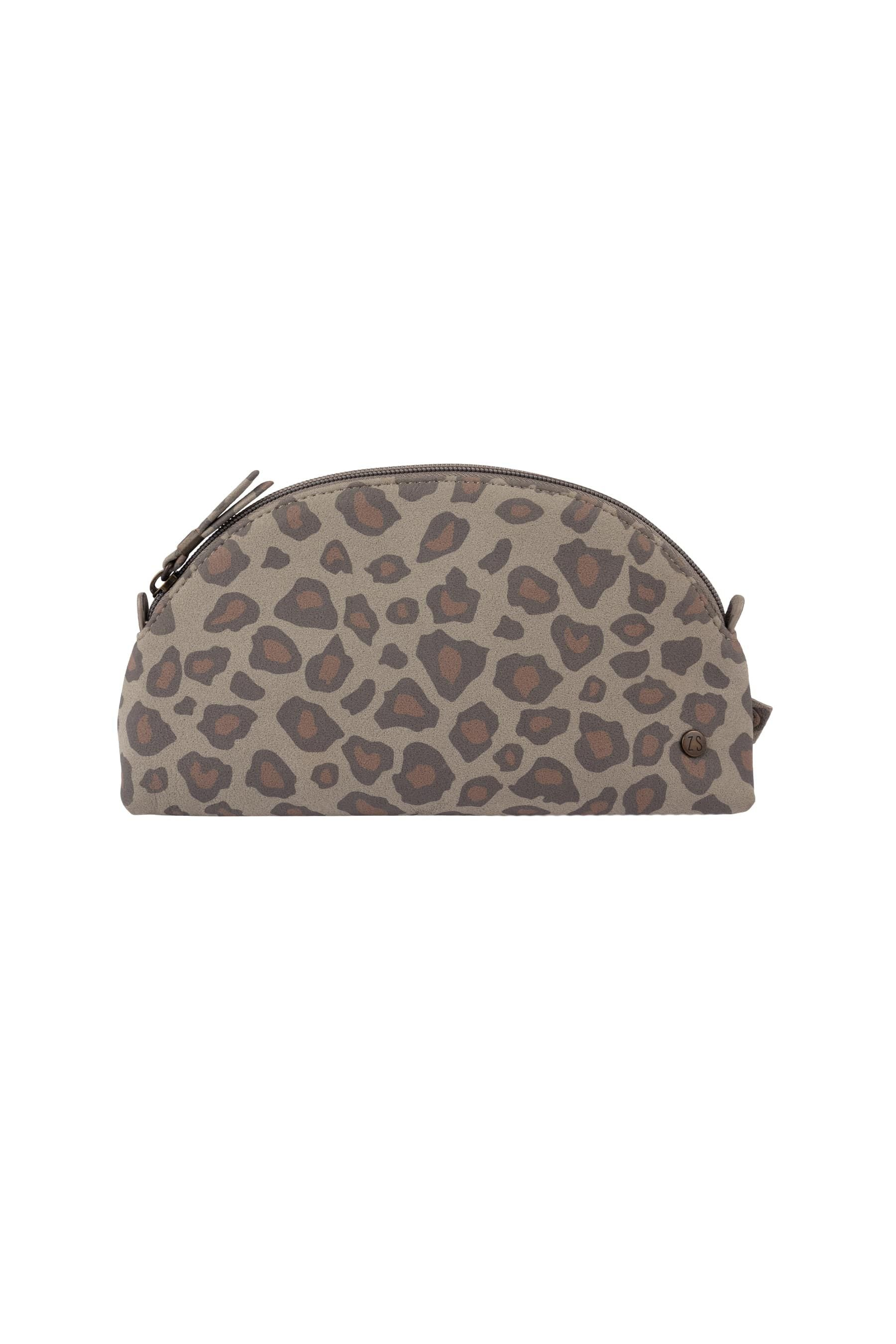 Make-up tasje met leopard print