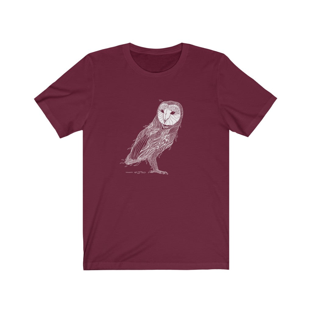 Owl Unisex Short Sleeve T-shirt - Assorted colors