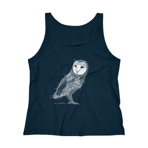 Owl Women's Tank Top - Assorted Colors