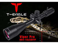 T-EAGLE VIPER PRO HD 4-16X50FFP -FIRST FOCAL PANEL