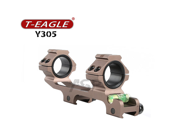 T-EAGLE Y305 RIFLE SCOPE MOUNT-WOLF BROWN