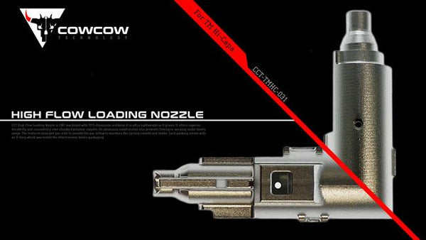 COWCOW High Flow Loading Nozzle for Hi-Capa