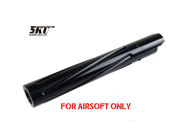 5KU SPIRAL FIX BARREL FOR TOY HI-CAPA-BLACK