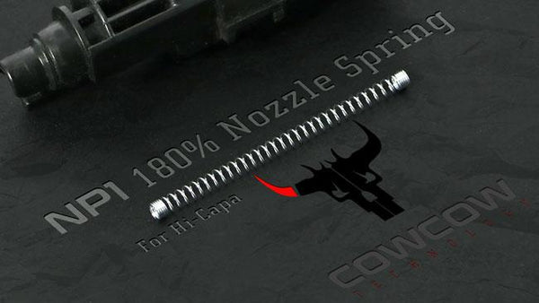 COWCOW 180% Nozzle Spring For Hi-Capa