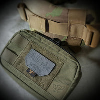 PSIGEAR LASER CUT BLOOD TYPE PATCH - COYOTE BROWN