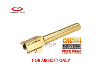 GUARDER Aluminum CNC Titanium Sharks cut Golden Outer Barrel for G17/G18