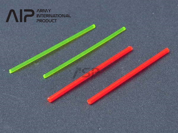 AIP Fiber Optic (Red 2mm , Green 1.5mm)
