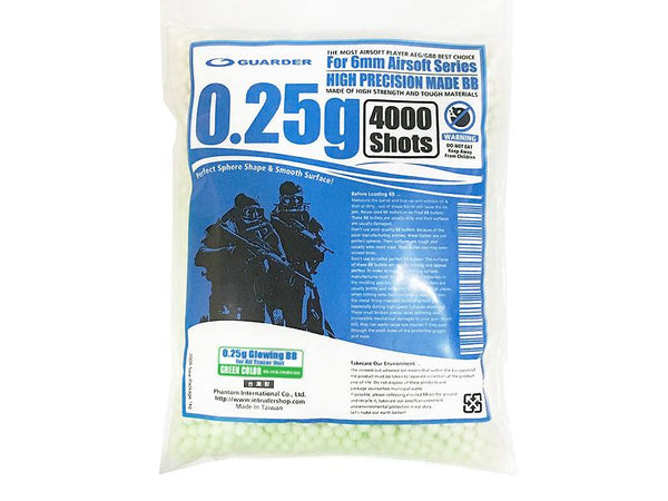 GUARDER 0.25g High Precision Tracer 1kg (GRN)