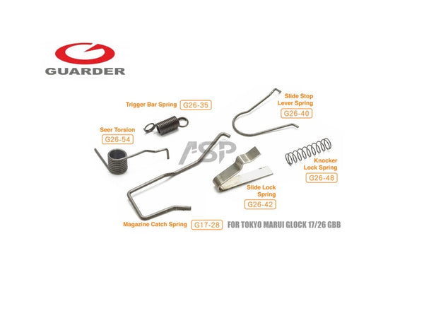 GUARDER  MARUI G-Series Enhanced Spring Set