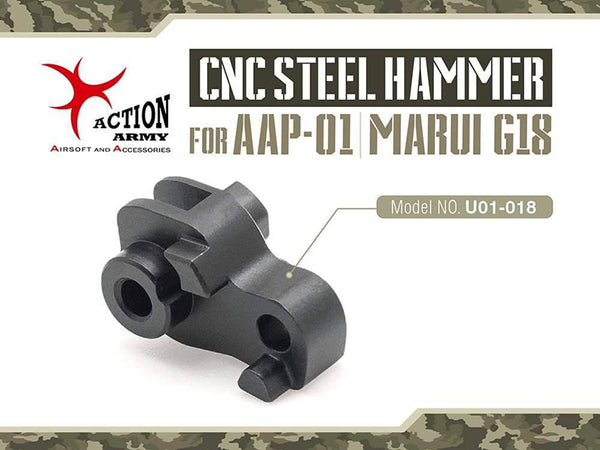 ACTION ARMY CNC STEEL HAMMER FOR AAP-01/TM G18