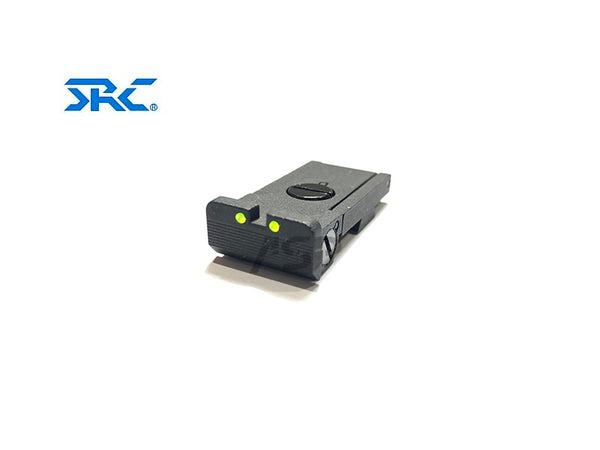SRC FIBER OPTIC REAR SIGHT FOR BABAYAGA (HI-CAPA)