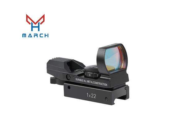 MARCH 1X22 MULTI-RETICLE REFLEX SIGHT