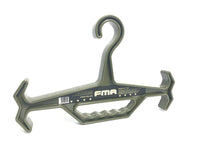 FMA TACTICAL HEAVY DUTY HANGER-OD GREEN