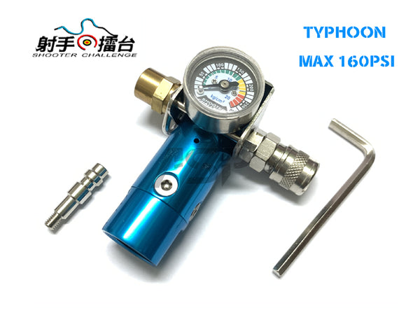 SC TYPHOON HPA REGULATOR 160 PSI