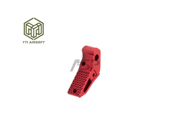 TTI TACTICAL ADJUSTABLE TRIGGER FOR GLOCK/AAP01/WE GALAXY-RED