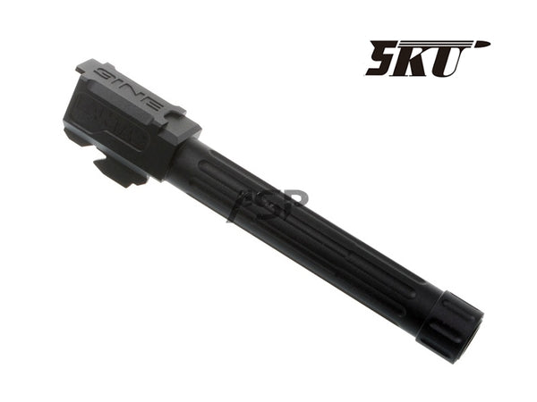 5KU LANTAC 9INE Aluminum Threaded Barrel FOR TM G17/18-BK
