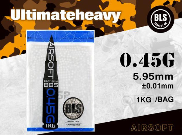 BLS 0.45g ULTIMATE HEAVY 1KG WHITE