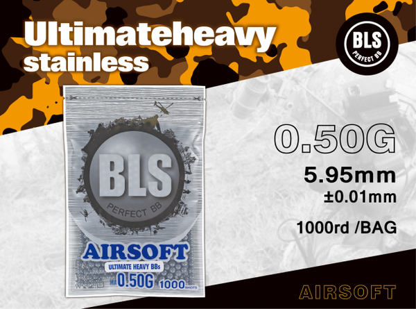 BLS 0.50g ULTIMATE HEAVY 1000 RDS- GREY
