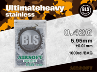 BLS 0.42g ULTIMATE HEAVY 1000 RDS- GREY