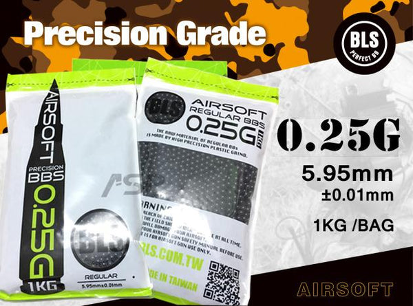 BLS 0.25g HIGH PRECISION 1KG BLACK