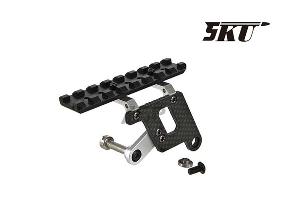 5KU CARBON SCOPE MOUNT FOR HI CAPA -SILVER