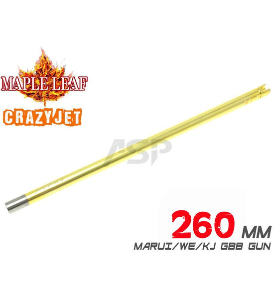MAPLE LEAF CRAZY JET 260MM FOR TOY AEG/GBBR