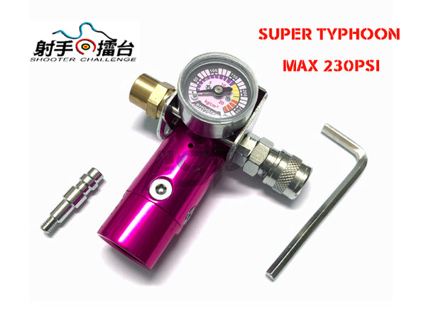 SC SUPER TYPHOON HPA REGULATOR 240 PSI