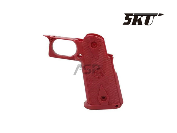 5KU STI CUSTOM NYLON GRIP FOR HI CAPA - RED
