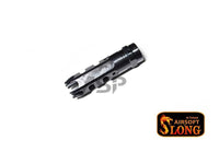 SLONG STEEL FLASH HIDER (-14mm) FOR M4-TYPE 306