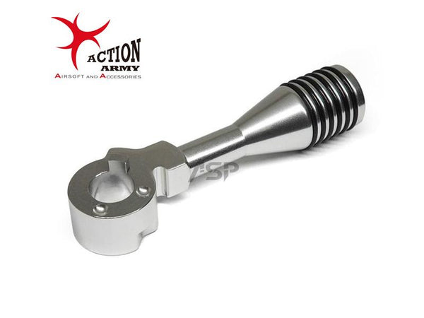 ACTION ARMY VSR BOLT HANDLE-SILVER