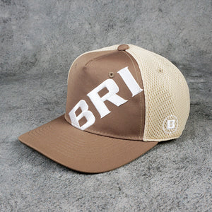 【BRIEFING】MENS GRAPHIC CORDURA MESH CAP[BEIGE](BRG211M63)