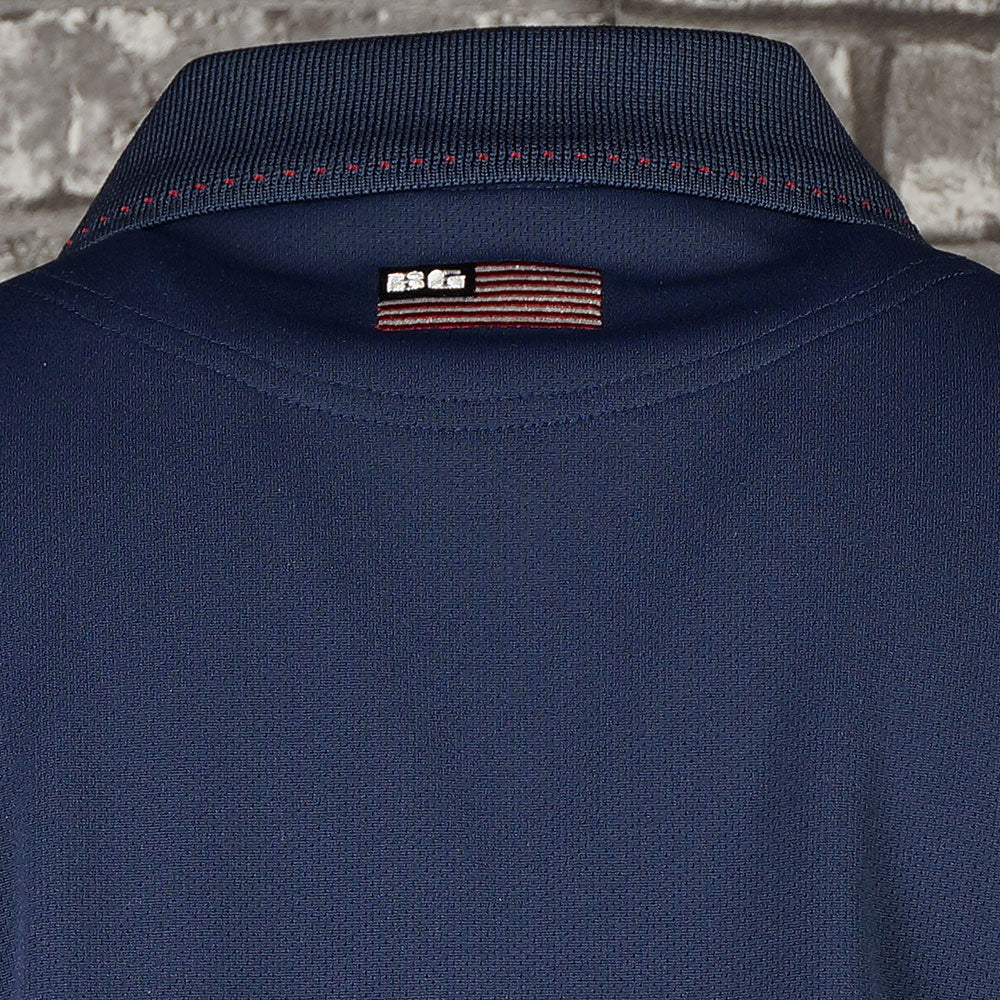 【BRIEFING】WOMENS BASIC POLO[NAVY](BRG211W11)