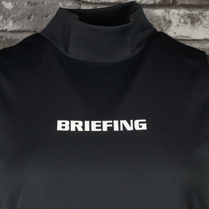 【BRIEFING】WOMENS NO SLEEVE HIGH NECK SHIRTS[BLACK](BRG211W17)