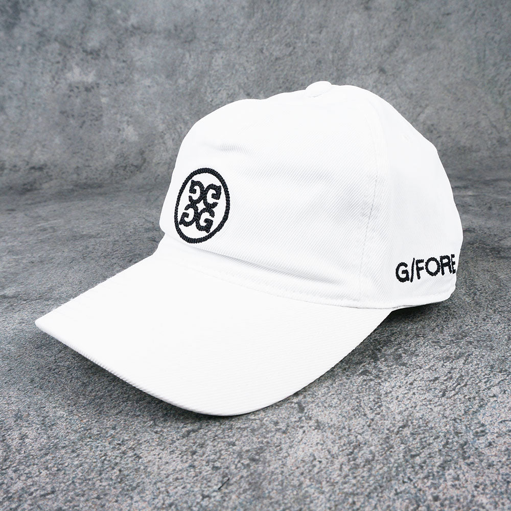 【G/FORE】WOMEN'S XFIT SMALL CIRCLE G'S[SNOW](G4AC0H02XS)