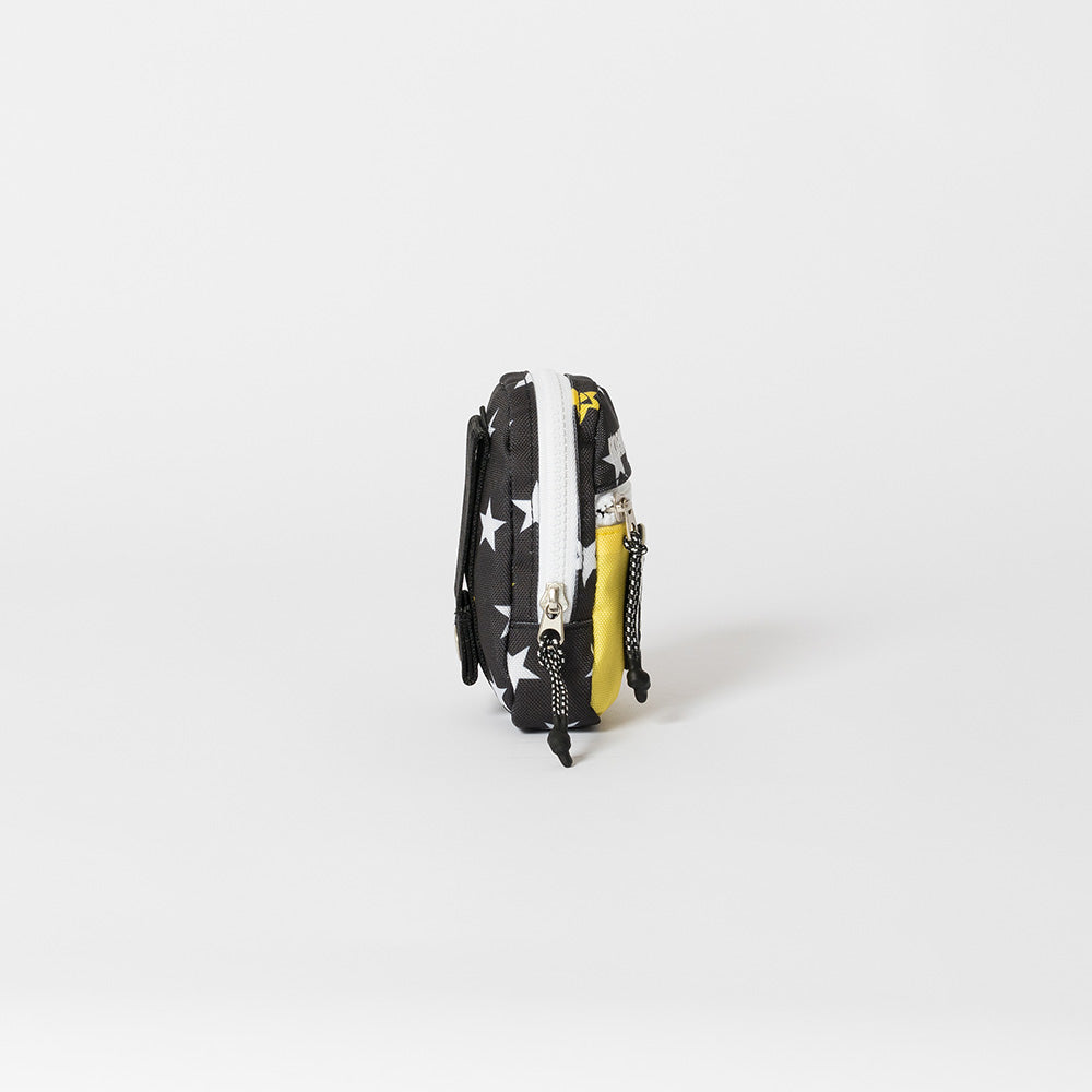 【HORN GARMENT】P.O.D [Pocket of Dreams] Bag charm[BLACK/YELLOW](HCS-1A-SB05)