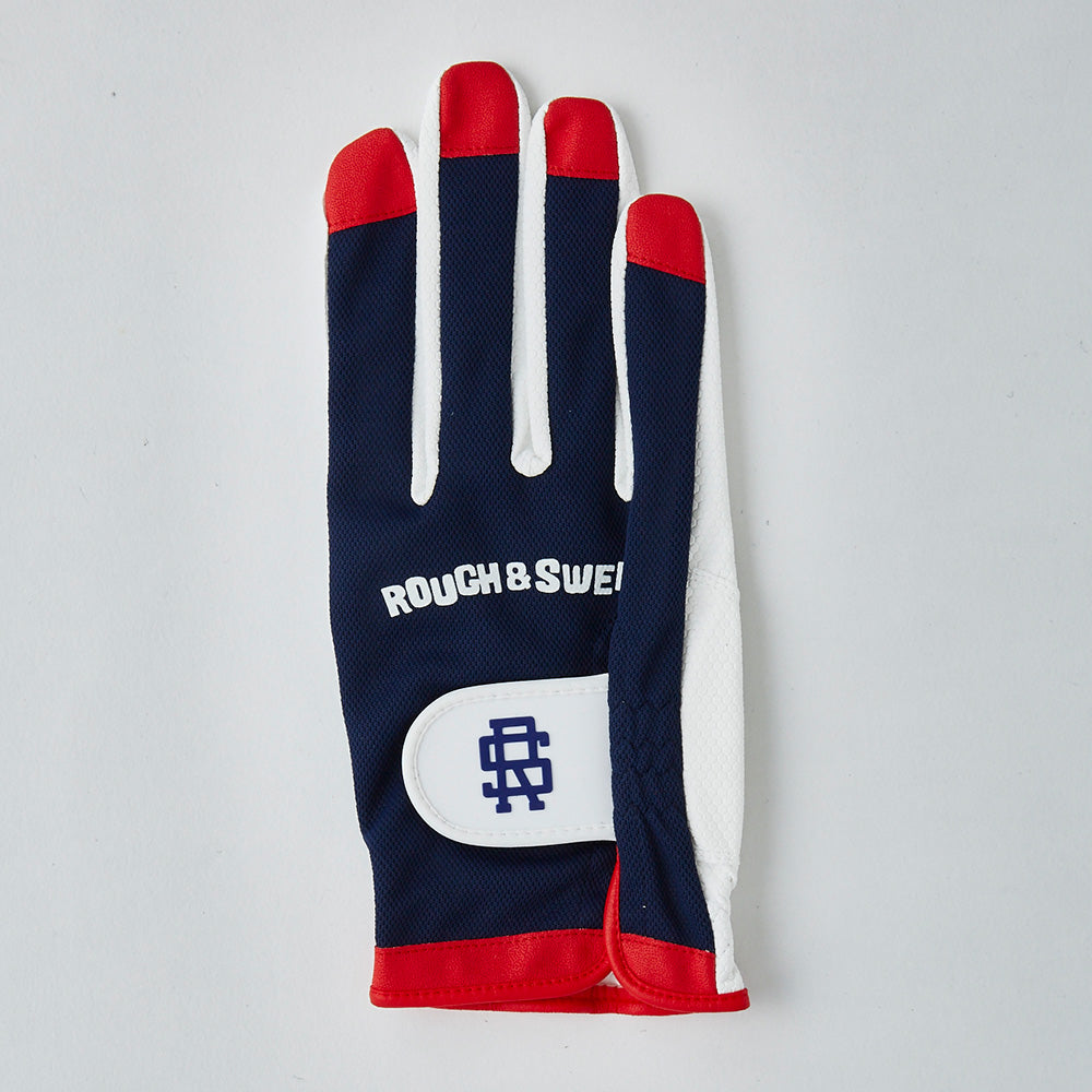 【rough&swell】MEN'S GOOD SHOT GLOVE 2 LEFTY[NAVY](RSA-21006)